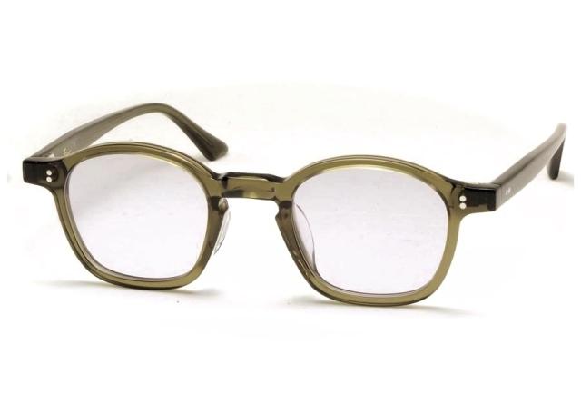 Few by NEW. フューバイニュー (NEWMAN ニューマン) F1 ClearGreen クリアグリーン 眼鏡 メガネ サングラス
