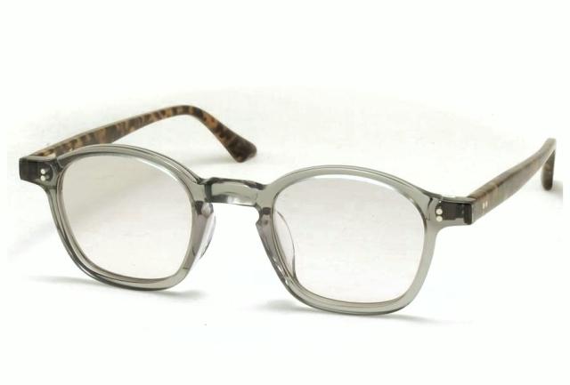 Few by NEW. フューバイニュー (NEWMAN ニューマン) F1 ClearGrey クリアグレー 眼鏡 メガネ サングラス