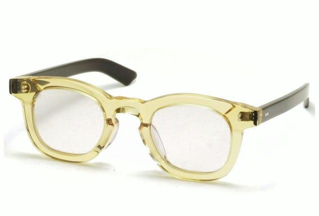 Few by NEW. フューバイニュー (NEWMAN ニューマン) F6 ClearYellow クリアイエロー 眼鏡 メガネ サングラス