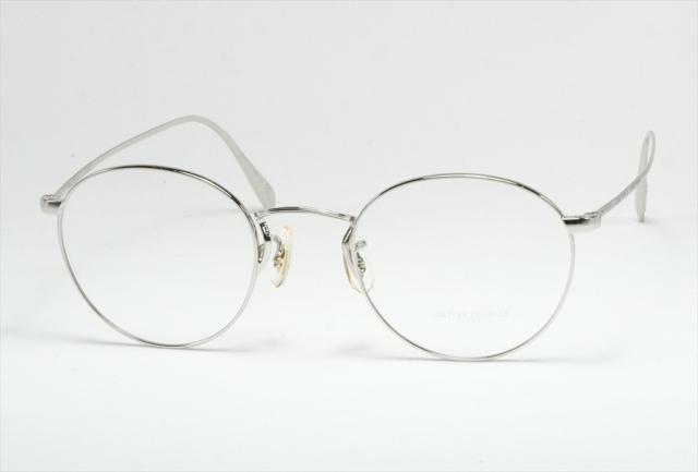 オリバーピープルズ メタル メガネ シルバー コールリッジ   OV1186 5145 OLIVER PEOPLES Silver  (UVカットレンズ付き)