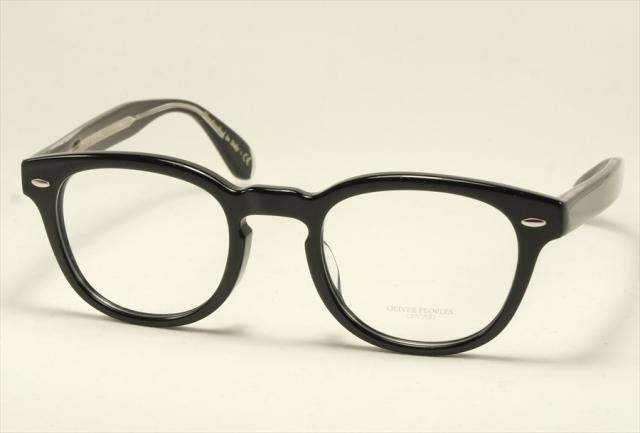 オリバーピープルズ シェルドレイク メガネ ブラック ボストン  OV5036A OLIVER PEOPLES Sheldrake Size47 1492 Black (UVカットレンズ付き)