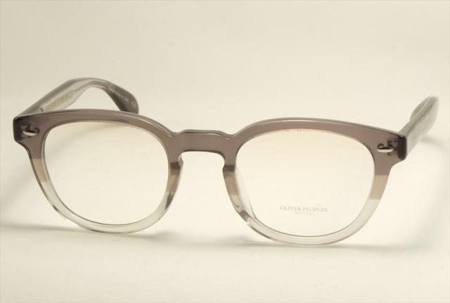 オリバーピープルズ シェルドレイク メガネ クリア ボストン  OV5036A OLIVER PEOPLES Sheldrake Size47 1436 VINTAGE GREY FADE (UVカットレンズ付き)