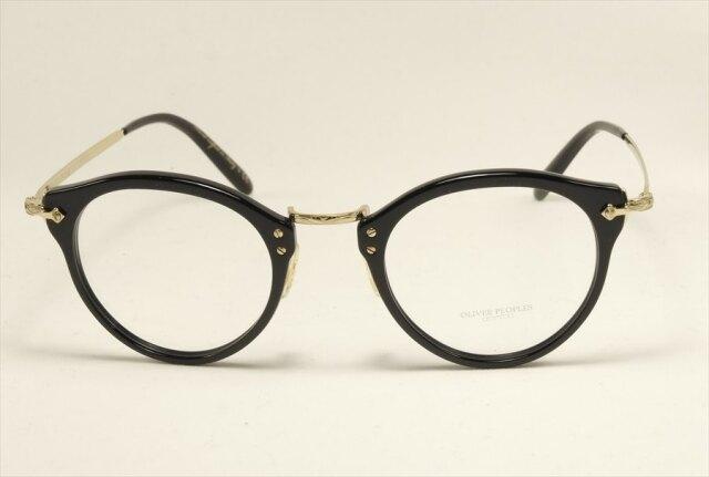 オリバーピープルズ コンビ 505 メガネ ブラック  OV5184 OP-505-1005L OLIVER PEOPLES Black (UVカットレンズ付き)