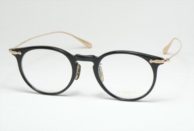 オリバーピープルズ マレット メガネ ブラック ボストン  OV5343D 1005 OLIVER PEOPLES Marret Black  (UVカットレンズ付き)