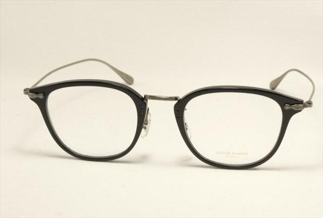オリバーピープルズ ディビット メガネ ブラック 日本製 ダビット OV5389D 1005 OLIVER PEOPLES Davitt Black (UVカットレンズ付き)