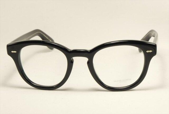 オリバーピープルズ ケーリーグラント メガネ ブラック コラボ  OV5413U 1492 OLIVER PEOPLES CaryGrant Black  (UVカットレンズ付き)