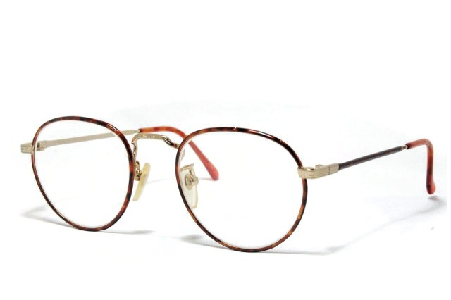 ラルフローレン ヴィンテージメガネ デッドストック メタル 日本製 Ralph Lauren POLO CLASSIC4。 1970-80's Dead Stock
