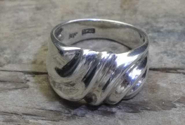 【送料無料】Vintage  Silver 925 Ring (R011) ヴィンテージ シルバー アクセサリー リング