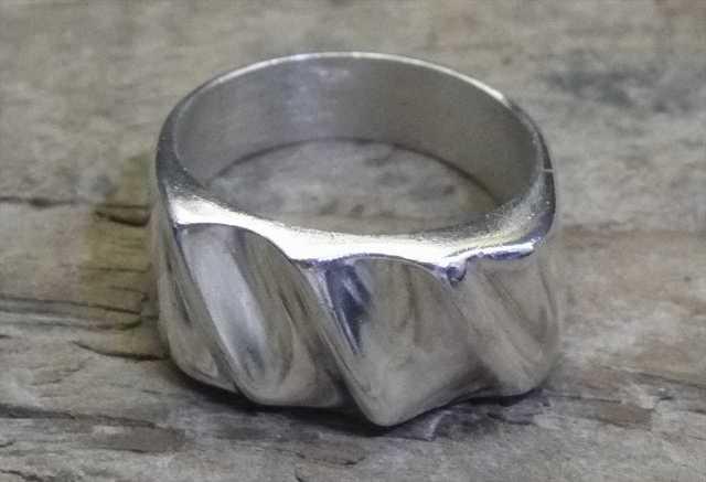 【送料無料】Vintage Mexican Silver 925 Ring (R021) ヴィンテージ メキシカン シルバー アクセサリー リング