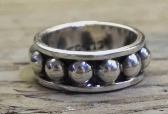 ヴィンテージ メキシカン シルバー 925 (R022) ジュエリー アクセ リング Vintage Mexican Silver 925 Ring