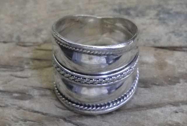 【送料無料】Vintage Mexican Silver 925 Ring (R025) ヴィンテージ シルバー アクセサリー リング