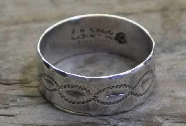 【送料無料】Vintage Mexican Silver 925 Ring (R026) ヴィンテージ シルバー アクセサリー リング