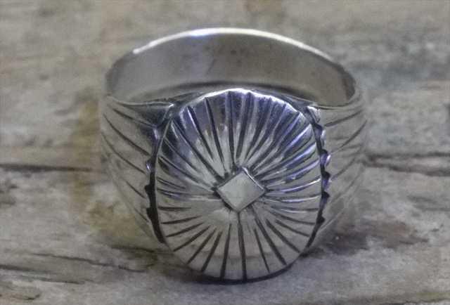 【送料無料】Vintage Mexican Silver 925 Ring (R027) ヴィンテージ シルバー アクセサリー リング