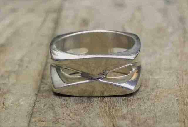 【送料無料】Vintage Mexican Silver 925 Spinner Ring (R028) ヴィンテージ メキシカン シルバー アクセサリー リング