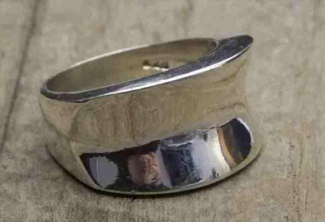 【送料無料】Vintage  Silver 925 Ring (R035) ヴィンテージ シルバー リング