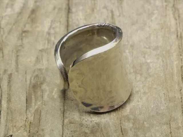 【送料無料】Vintage Mexican Silver 925 Ring (R040) ヴィンテージ メキシカン シルバー 925 リング
