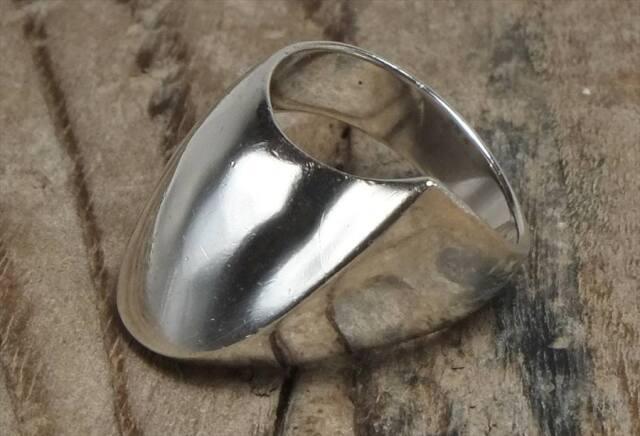 ヴィンテージ メキシカン シルバー 925 (R042) ジュエリー アクセ  アシメ Vintage Mexican Silver 925 Ring