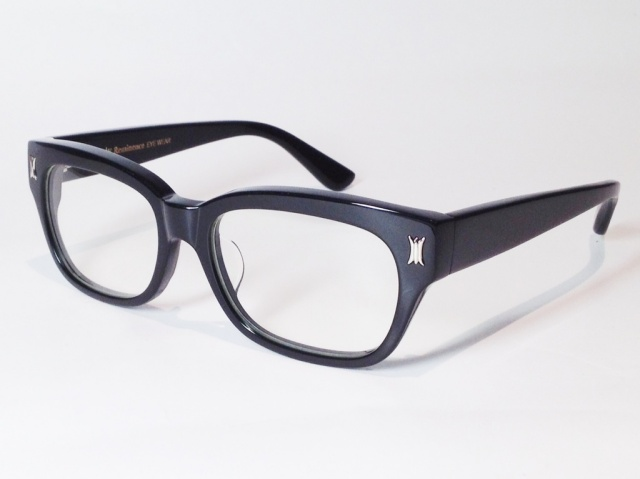 【送料無料】Reminence EYEWEAR  ADMINISTER ( Black - Silver / Clear )