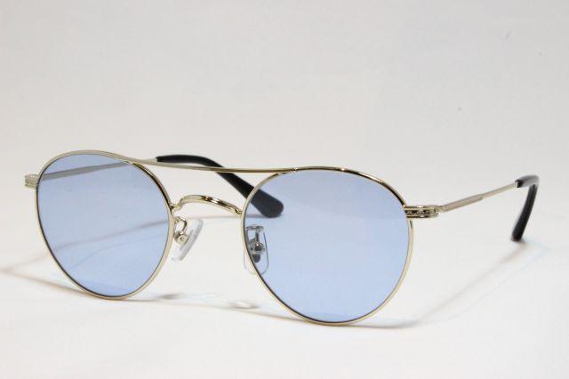レミネンス サングラス メタル シルバー ライトカラー ツーブリ オリジナル Reminence IV-125 Silver (Silver/Blue-Lens)