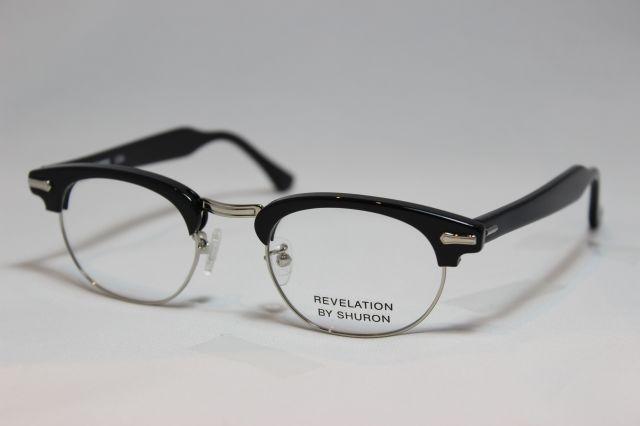 【送料無料】SHURON(シュロン) REVELATION  【レベレーション】(Black) size 50. UVカットレンズ付き