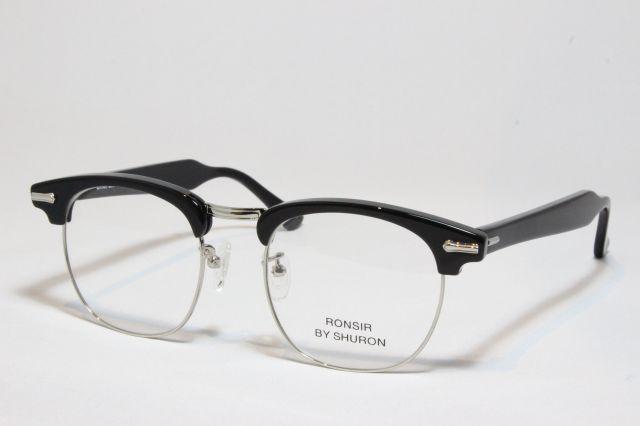 【送料無料】SHURON(シュロン) RONSIR (Black) size 50. UVカットレンズ付き