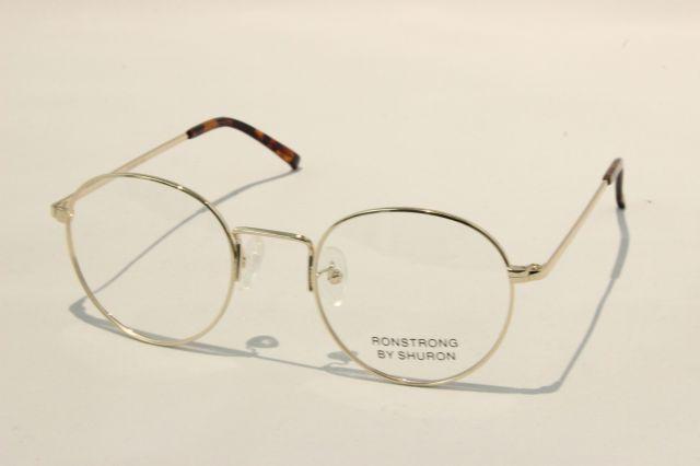 【送料無料】SHURON(シュロン) RONSTRONG (Gold) size 50. UVカットレンズ付き
