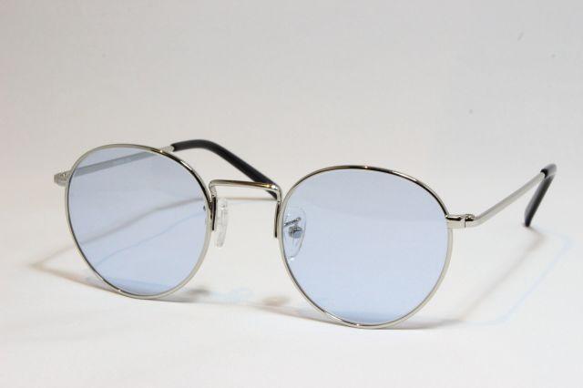 シュロン ロンストロング サングラス シルバー サイズ48 SHURON RONSTRONG Silver Size48 (Silver/Blue-Lens)