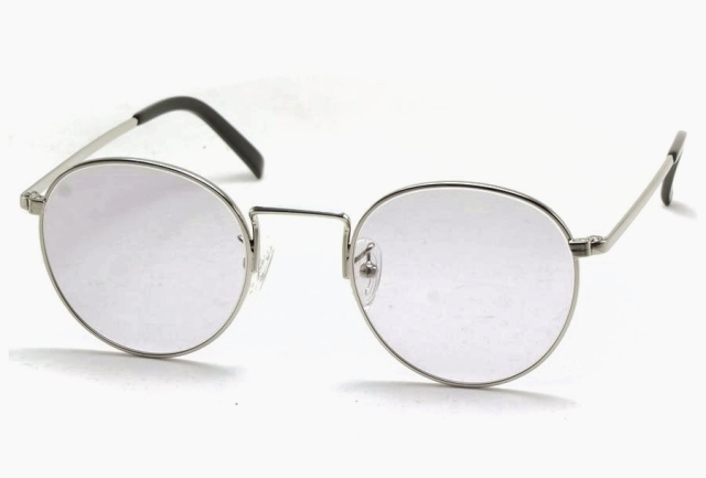 シュロン ロンストロング サングラス シルバー サイズ48 SHURON RONSTRONG Silver Size48 (Silver/Grey-Lens)