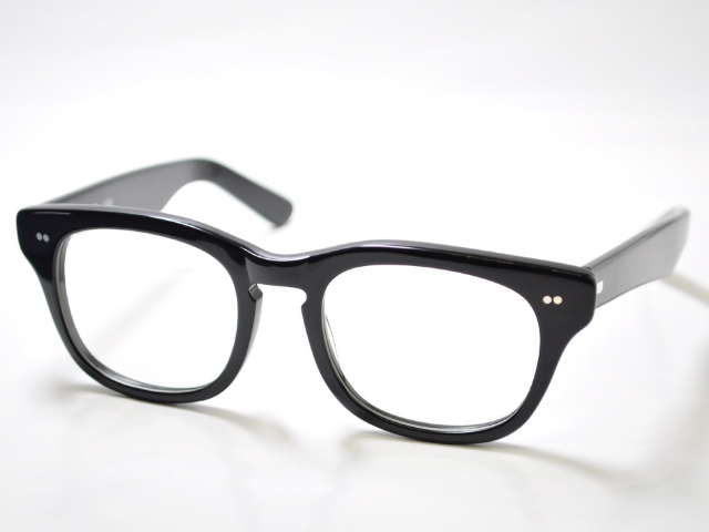 シュロン サイドワインダー メガネ ブラック サイズ50 SHURON SIDEWINDER Black Size50 (UVカットレンズ付き)