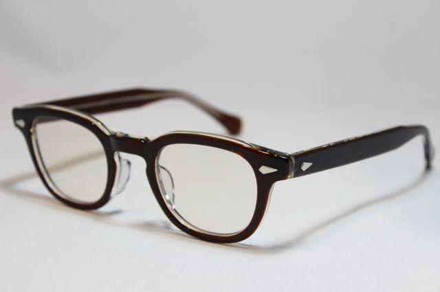 タート オプティカル アーネル ブラウンクリア サイズ44 TART OPTICAL ARNEL Brown Clear Size44 (Brown Clear/Brown-Lens)