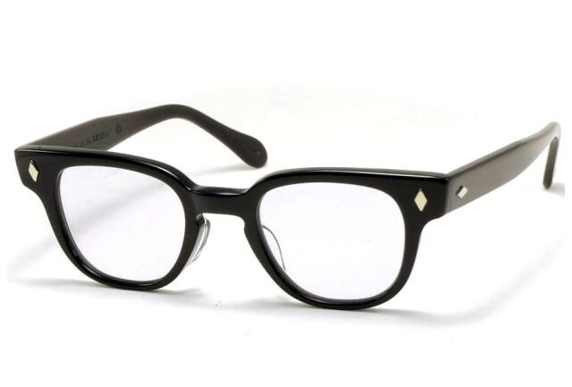 タート オプティカル ブライアン ブラック サイズ44 TART OPTICAL BRYAN Black Size44 (Black/Blue-Lens)
