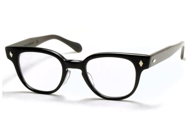 タート オプティカル ブライアン ブラック サイズ46 TART OPTICAL BRYAN Black Size46 (Black/Blue-Lens)