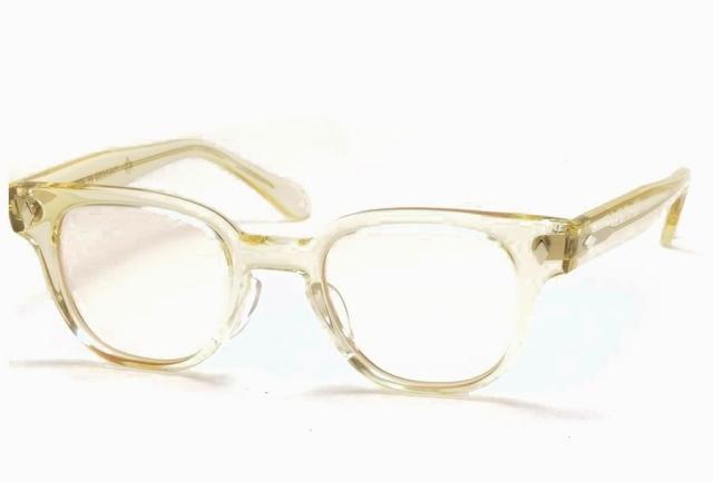 タート オプティカル ブライアン ベージュ クリア サイズ46 TART OPTICAL BRYAN HONEY BEIGE Size46 (Beige/Brown-Lens)