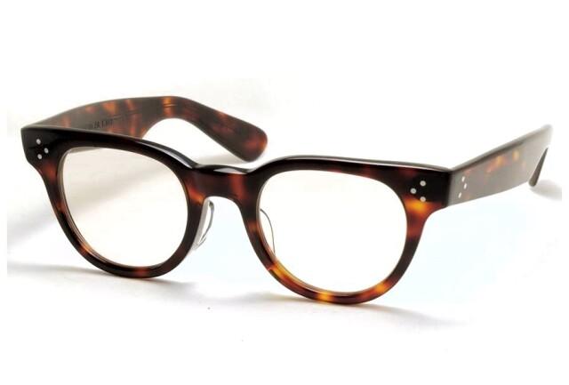 タート オプティカル エフディアール アンバー サイズ46 TART OPTICAL F.D.R. DEMI AMBER Size46 (Amber/Brown-Lens)
