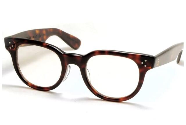 タート オプティカル エフディアール アンバー サイズ48 TART OPTICAL F.D.R. DEMI AMBER Size48 (Amber/Brown-Lens)