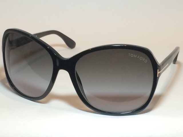TOM FORD(トム フォード) TF-186-SHEILA-SHIN-BK-GRY-GR( SHINY BLACK / GRAY GRADATION LENS)