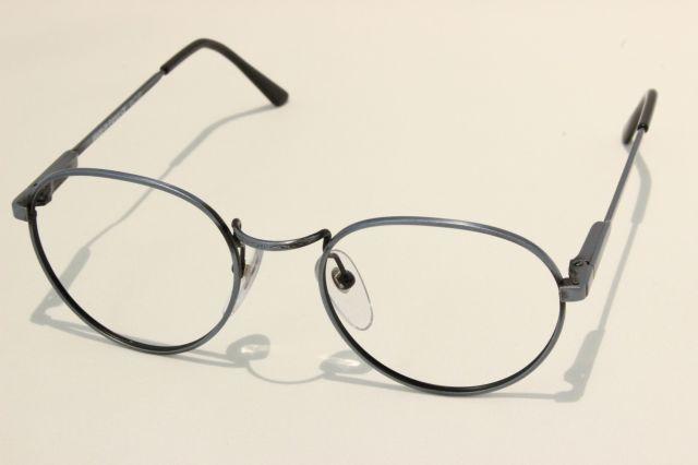 【送料無料】vintage デットストック 1980s メタル彫金 ボストンラウンド ヴィンテージ メガネ  【 MADE IN FRANCE 】