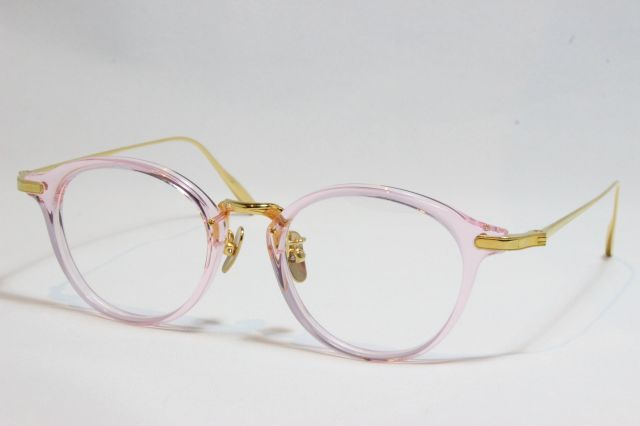 【送料無料】YUENN EYEWEAR (ユエン アイウェアー) YE-013 D (Light Pink )