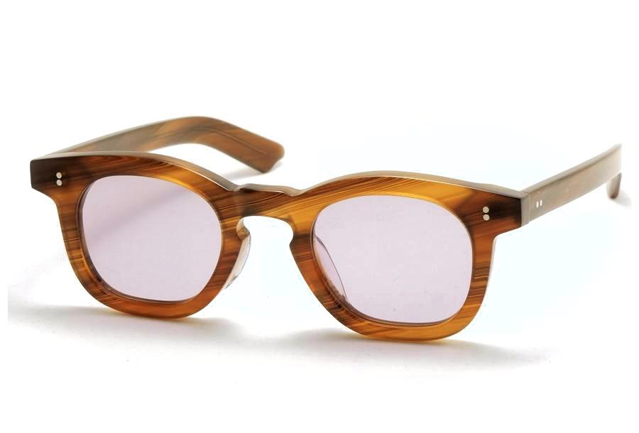 Few by NEW. フューバイニュー (NEWMAN ニューマン) F6 BrownSasa ブラウンササ 眼鏡 メガネ サングラス