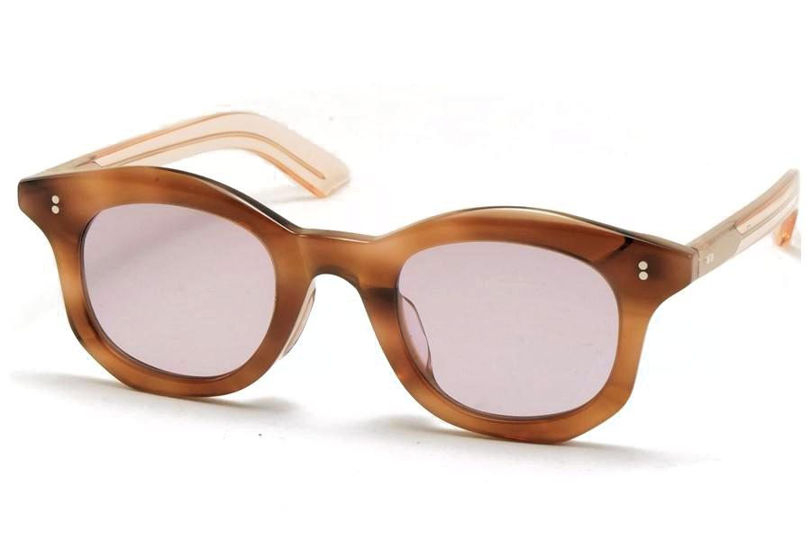 Few by NEW. フューバイニュー (NEWMAN ニューマン) F7 Light Brown ライトブラウン 眼鏡 メガネ サングラス