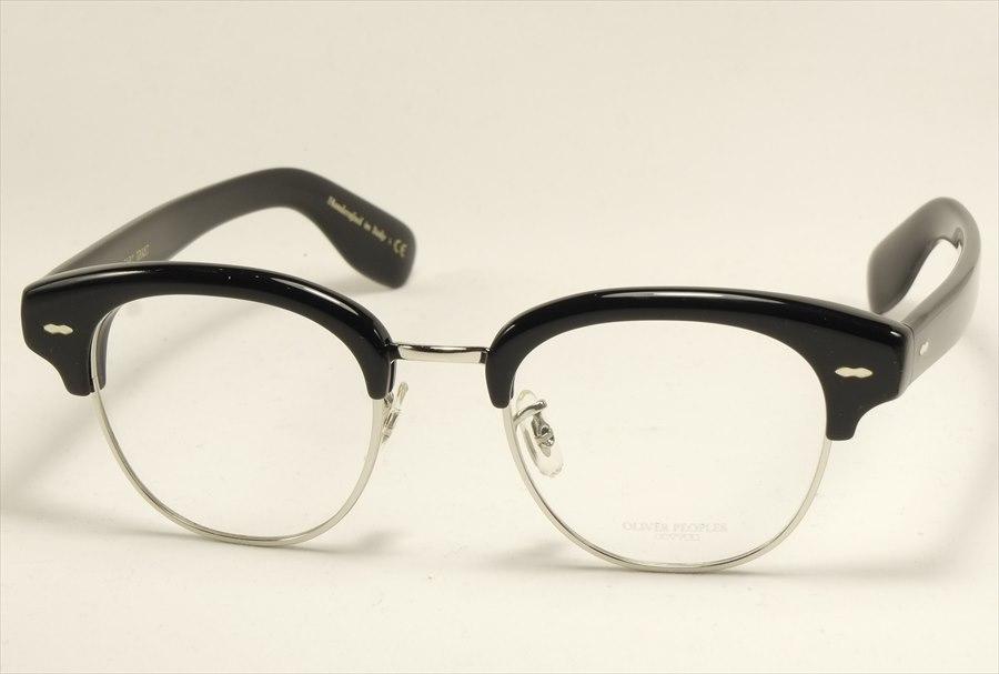 オリバーピープルズ ケーリーグラント メガネ ブラック コラボ ブロー OV5436 1005 OLIVER PEOPLES CaryGrant2 Black  (UVカットレンズ付き)