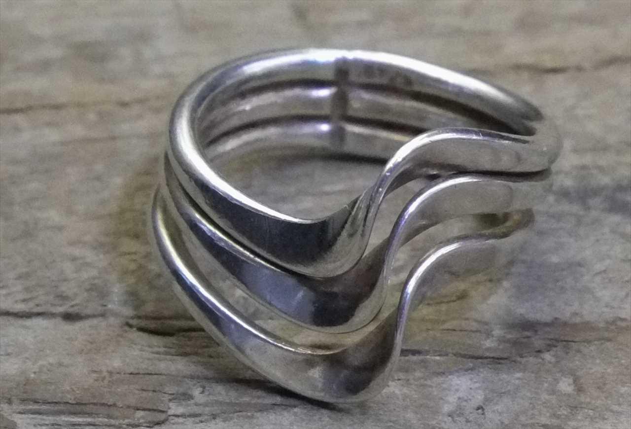 【送料無料】Vintage Mexican Silver 925 Ring (R016) ヴィンテージ シルバー アクセサリー リング