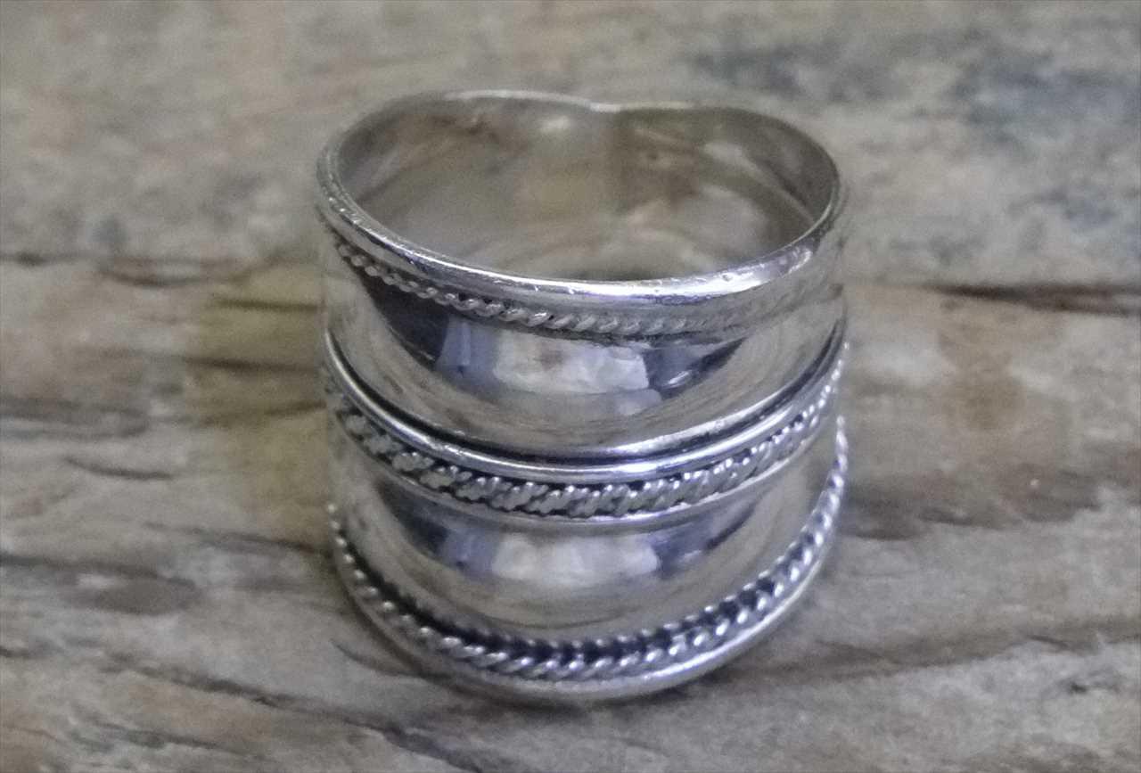 【送料無料】Vintage Mexican Silver 925 Ring (R025) ヴィンテージ メキシカン シルバー アクセサリー リング