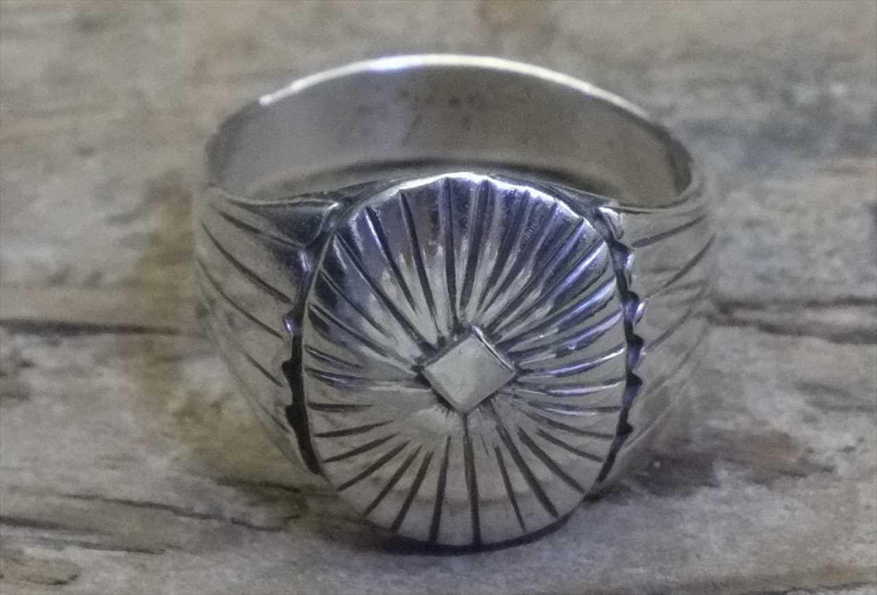 ヴィンテージ メキシカン シルバー 925 (R027) ジュエリー アクセ リング Vintage Mexican Silver 925 Ring