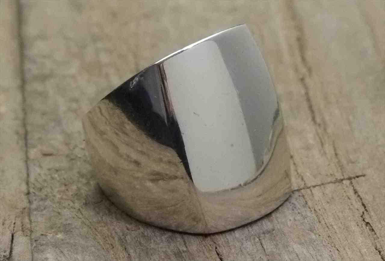 ヴィンテージ スターリング シルバー リング Size22 モダン (R036) Vintage  Silver 925 Ring