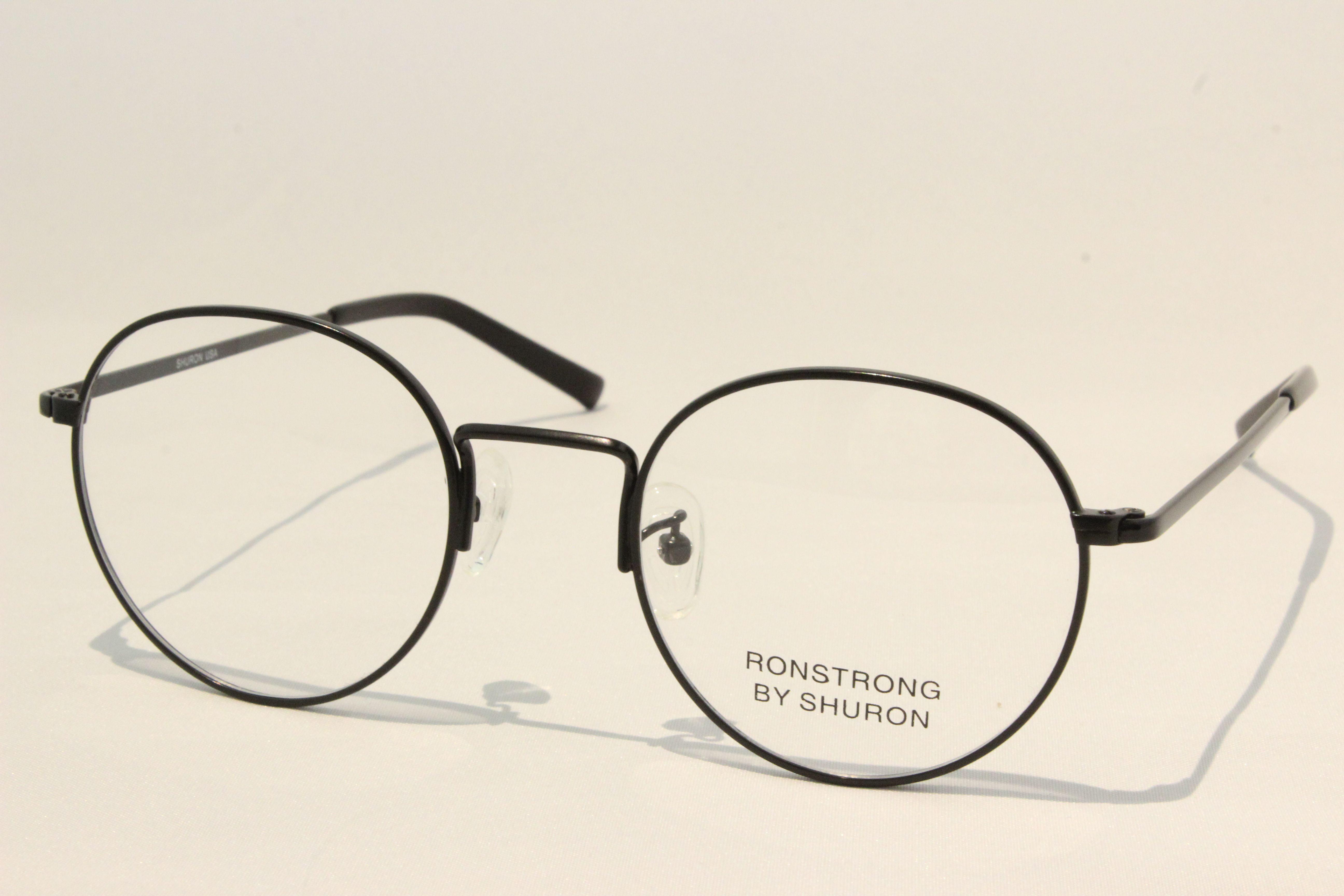 【送料無料】SHURON(シュロン) RONSTRONG (Black/Clear) size 50. UVカットレンズ付き