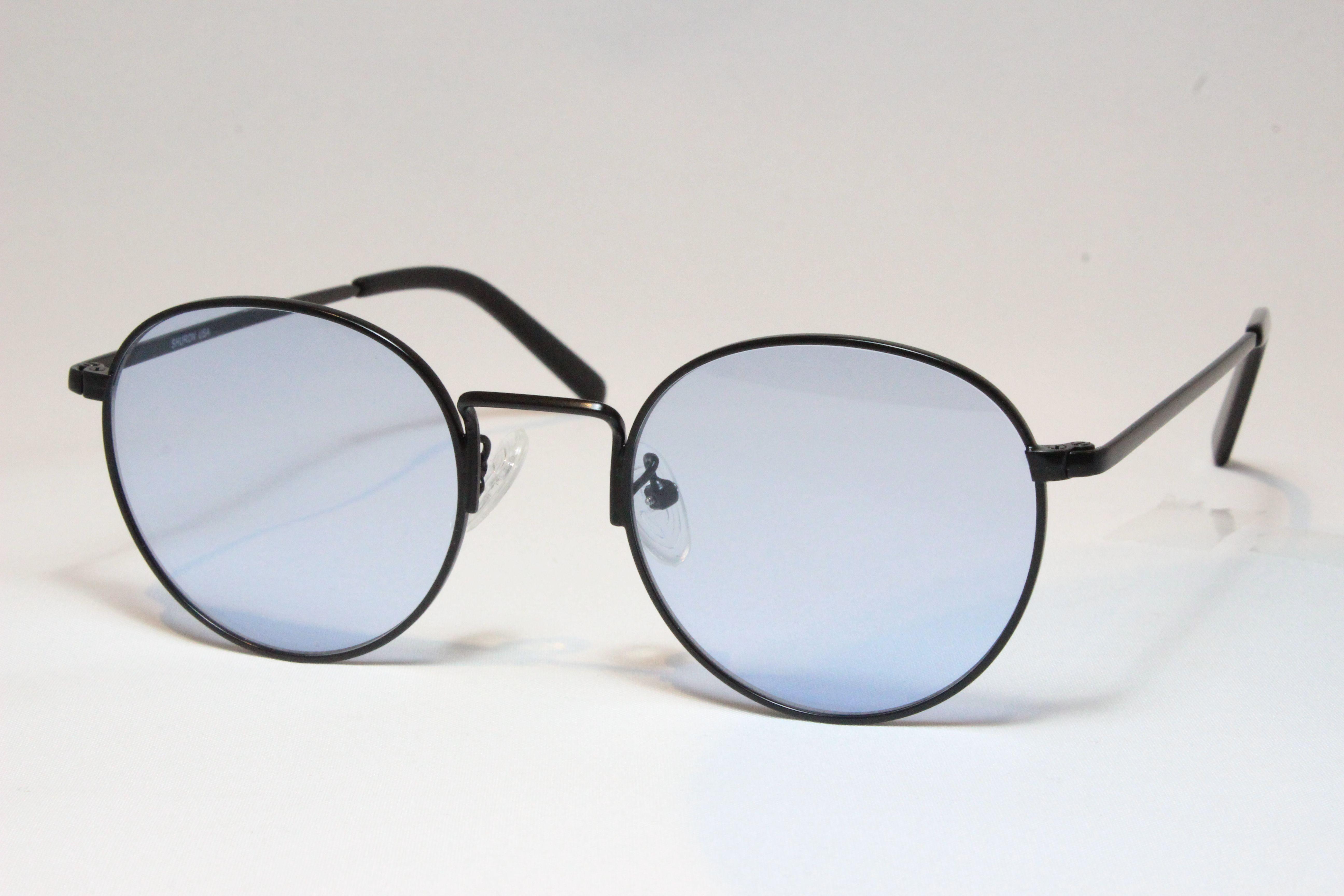 シュロン ロンストロング サングラス ブラック サイズ48 SHURON RONSTRONG Black Size48 (Black/Blue-Lens)