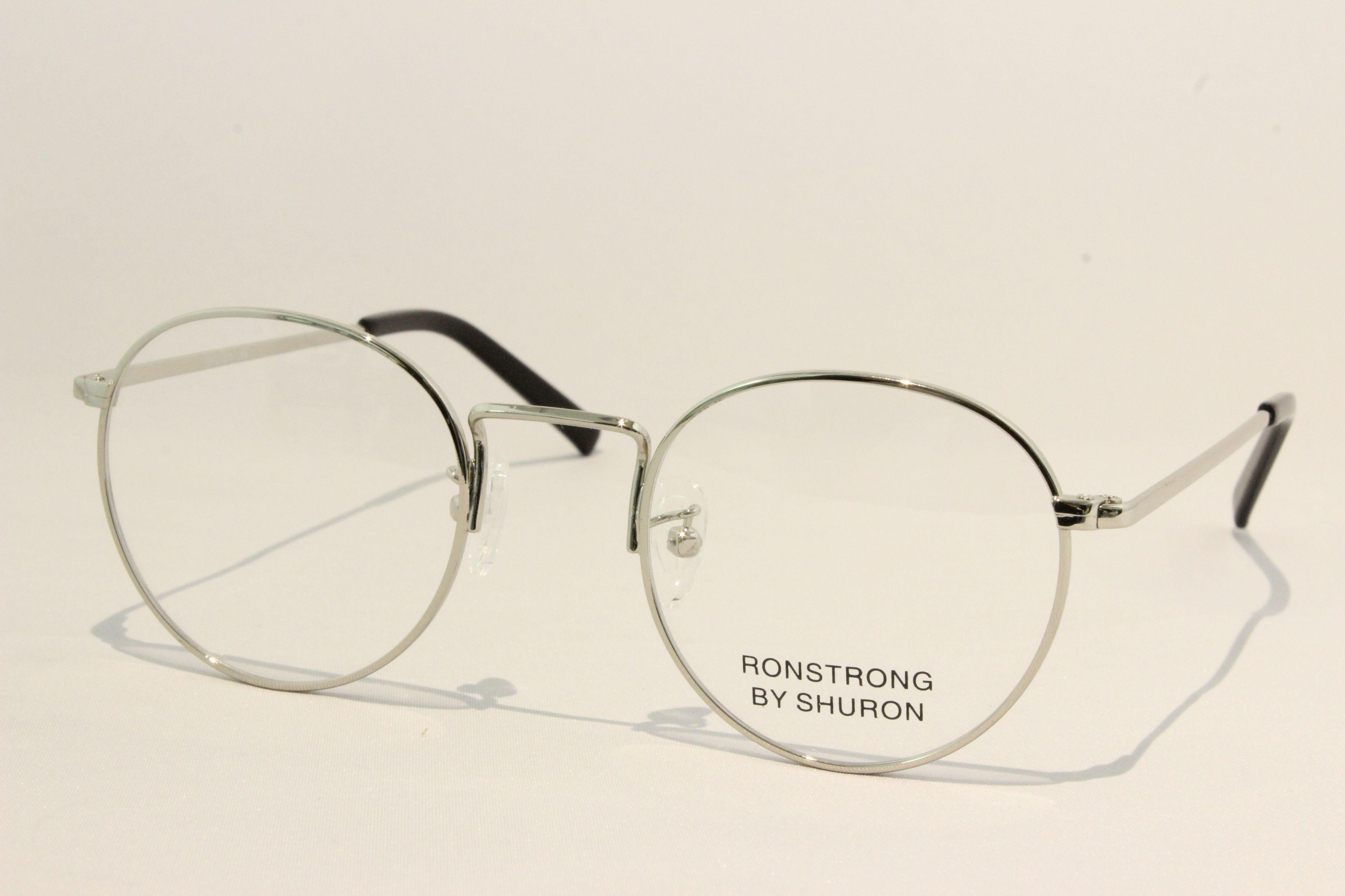【送料無料】SHURON(シュロン) RONSTRONG  【ロンストロング】(Silver) size 48. UVカットレンズ付き