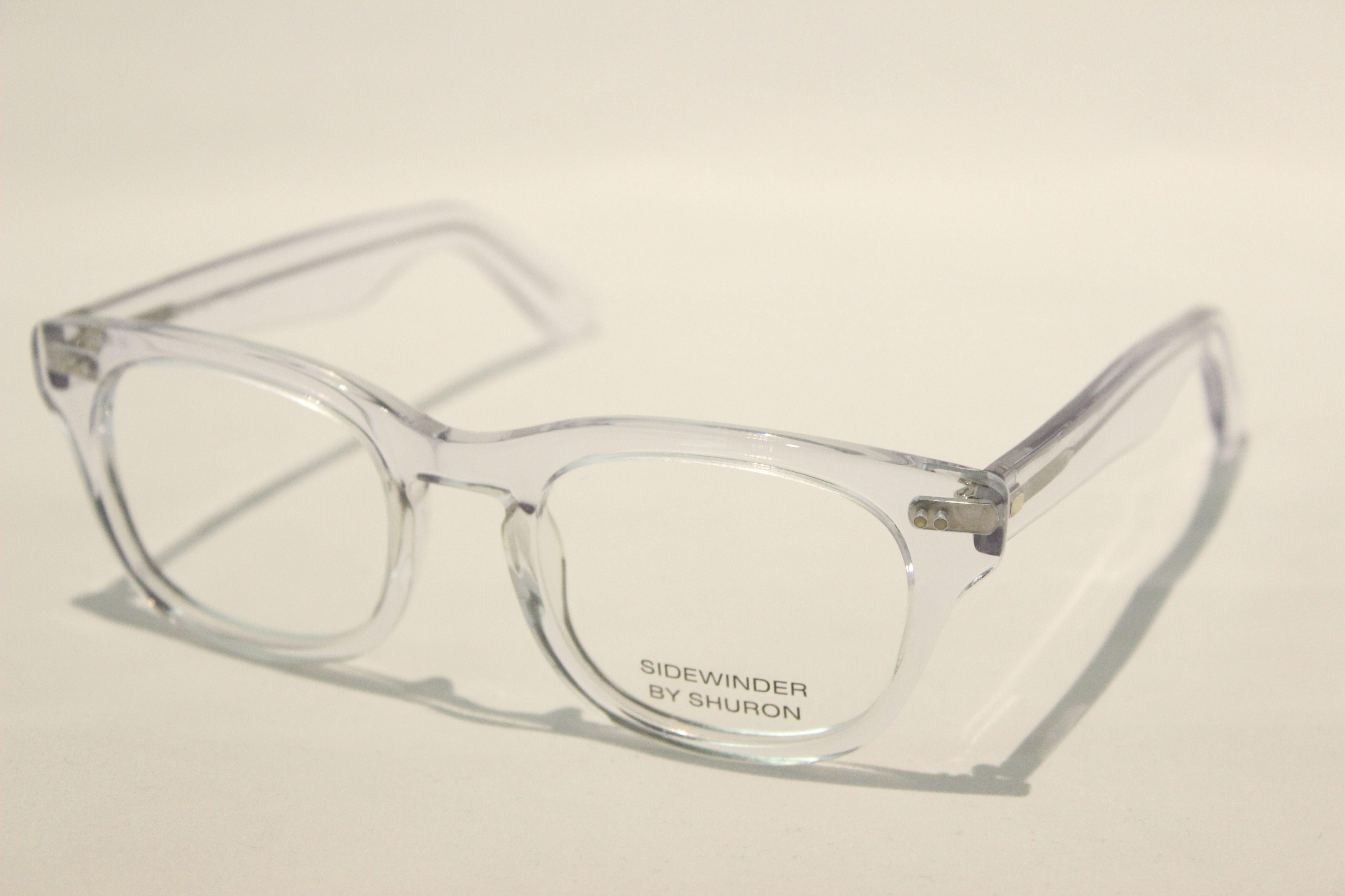 【送料無料】SHURON(シュロン) SIDEWINDER(Clear/Clear) UVカットレンズ付き