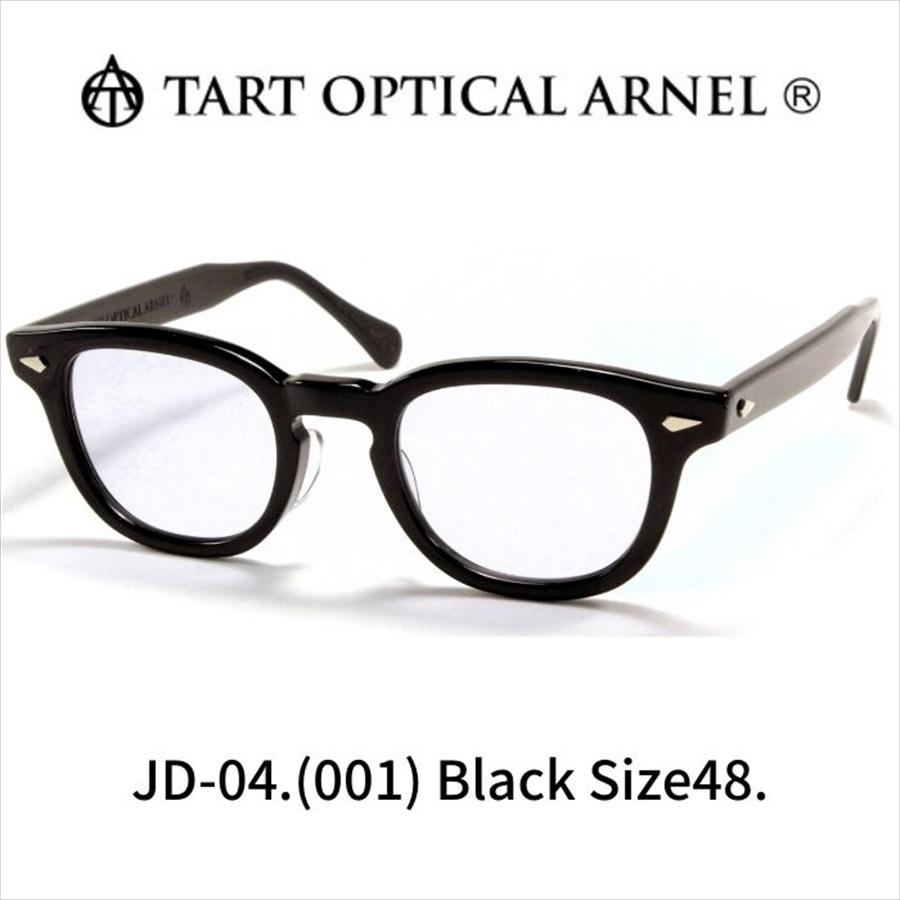 タート オプティカル アーネル ブラック サイズ48 TART OPTICAL ARNEL Black Size48 (Black/Blue-Lens)